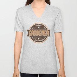 Instant Gardener Just Add Coffee Shirt Funny Gift Ideas Unisex V-Neck