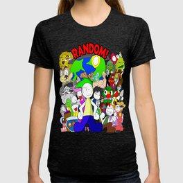 RANDOM Comic Promo Poster  T-shirt