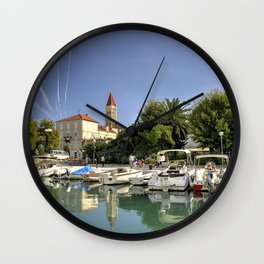 Trogir Reflected Wall Clock