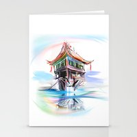 vietnam Stationery Cards featuring Vietnam by tatiana-teni
