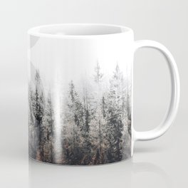 Moon Phases Forest Coffee Mug