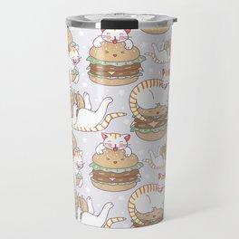 Cat burgers Travel Mug