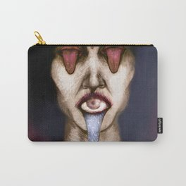 Tongue and eyes Carry-All Pouch