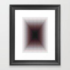 X 0 Framed Art Print