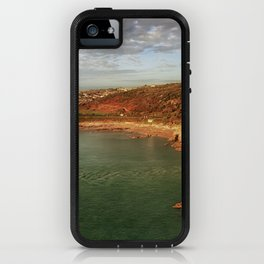 Aerial view of Bracelet Bay iPhone Case