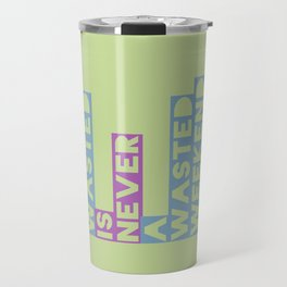 A Weekend Wasted (Colour) Travel Mug
