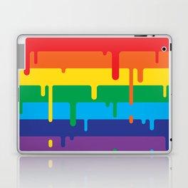 DRIPPY RAINBOW Laptop & iPad Skin