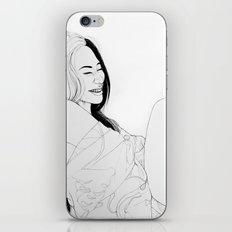 Happiness(illustration) iPhone & iPod Skin