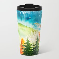 Autumn scenery #6 Metal Travel Mug