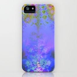 Fractal Burst III iPhone Case