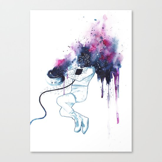 [I NEED SPACE] Canvas Print
