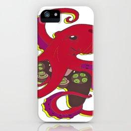 Polpo game iPhone Case