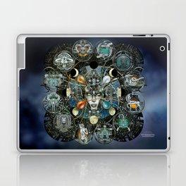 """Astrological Mechanism - Zodiac"" Laptop & iPad Skin"