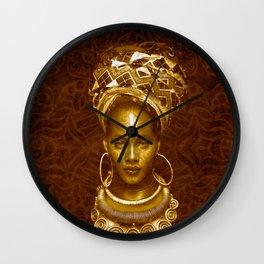Afrofuturist style Wall Clock