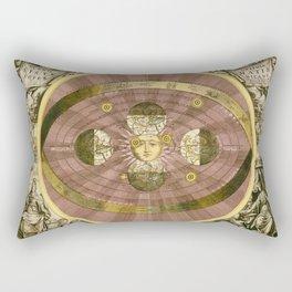 Sceno Syste Coper Graphia Matis Nicani Rectangular Pillow