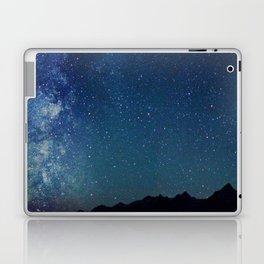 Milky Way Over the Tetons Laptop & iPad Skin