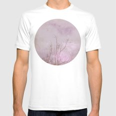 Planet 30101 White SMALL Mens Fitted Tee