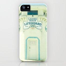 Laguna Lifeguard iPhone Case