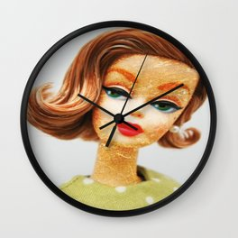 Shae Doll Wall Clock