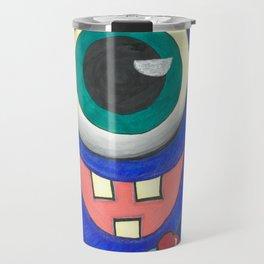 Monster and his cupcake Travel Mug