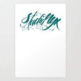 NYXography Art Print