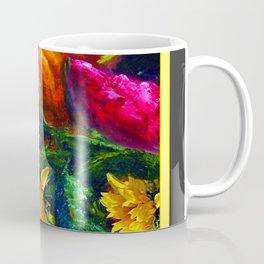 Sunflowers & fruit Fall Still Life Painting Coffee Mug