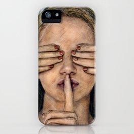 Silence in the Dark  iPhone Case