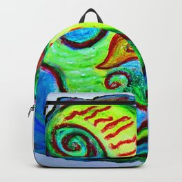 Pastel feu Backpack