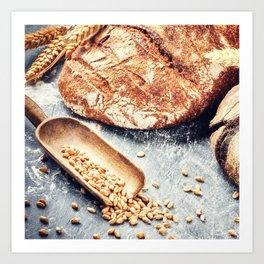 Loaf Art Print