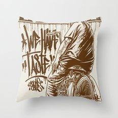 TASTE Throw Pillow