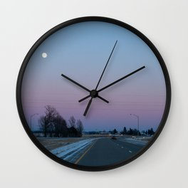 Nature's Rothko Wall Clock