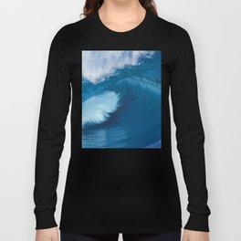 Teahupoo Tahiti Perfect Barrel Long Sleeve T-shirt