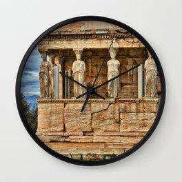 Parthenon Acropolis Athens Greece Wall Clock