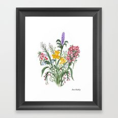 Spring Bouquet by Ave Hurley Framed Art Print