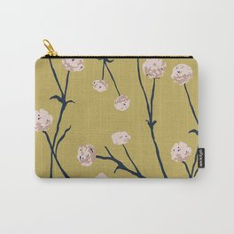 Dandelions on Ochre Carry-All Pouch