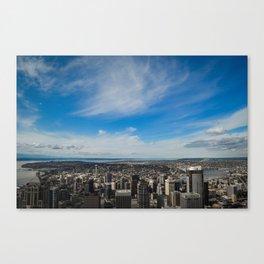Hey, Seattle! Canvas Print