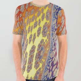 Fractal Vortices All Over Graphic Tee