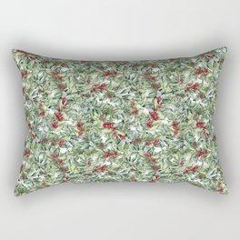 Elegant Christmas Rectangular Pillow