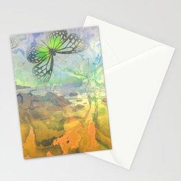 beach butterflies Stationery Cards