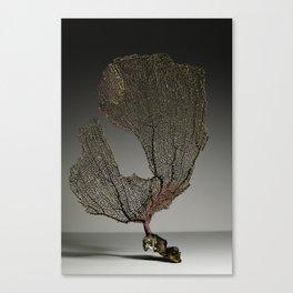 Purple Sea Fan IV Canvas Print