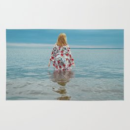 Woman in the Water Rug
