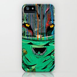 Wolf Mother - Screen Print Edition  iPhone Case