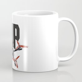 Let's rip a racing drone or drone racing work Coffee Mug