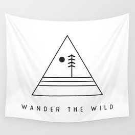 Wander The Wild Wall Tapestry