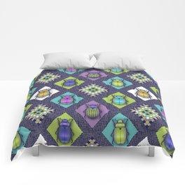 Scarabs Quilt Comforters