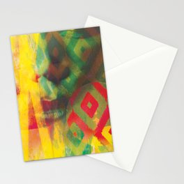 Textured Ikat Stationery Cards