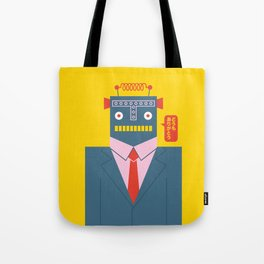 Mr. Roboto Tote Bag