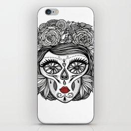 Miss Calavera iPhone Skin