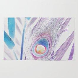Pastel Peacock Rug