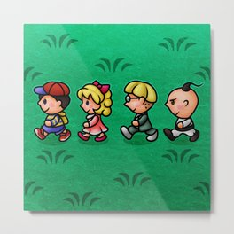 Earthbound Guys Metal Print